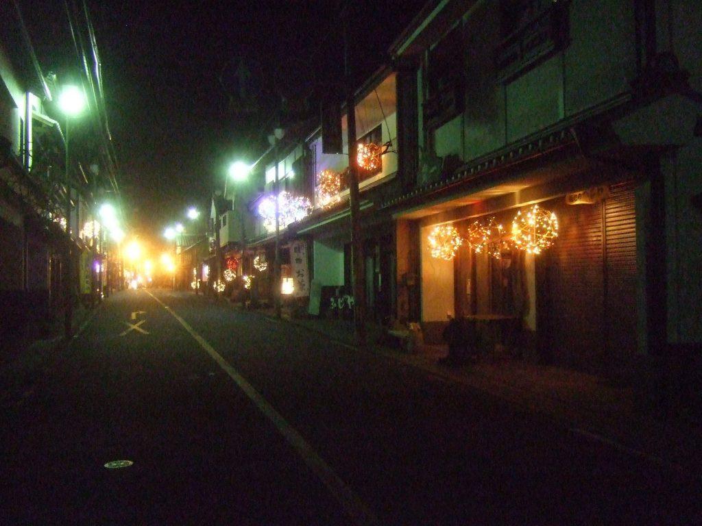 竹田城下町の竹ほたる 写真2