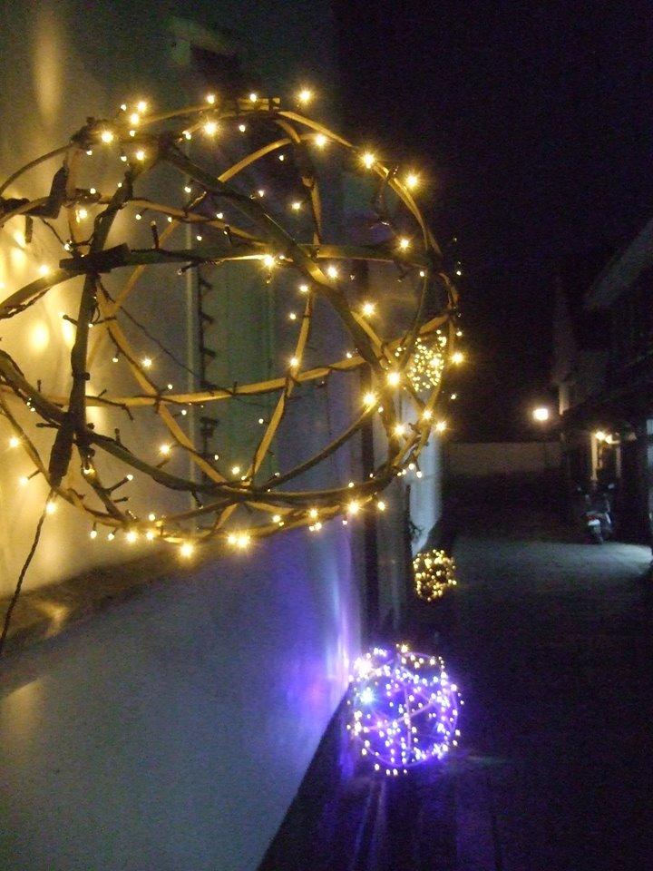 竹田城下町の竹ほたる 写真4