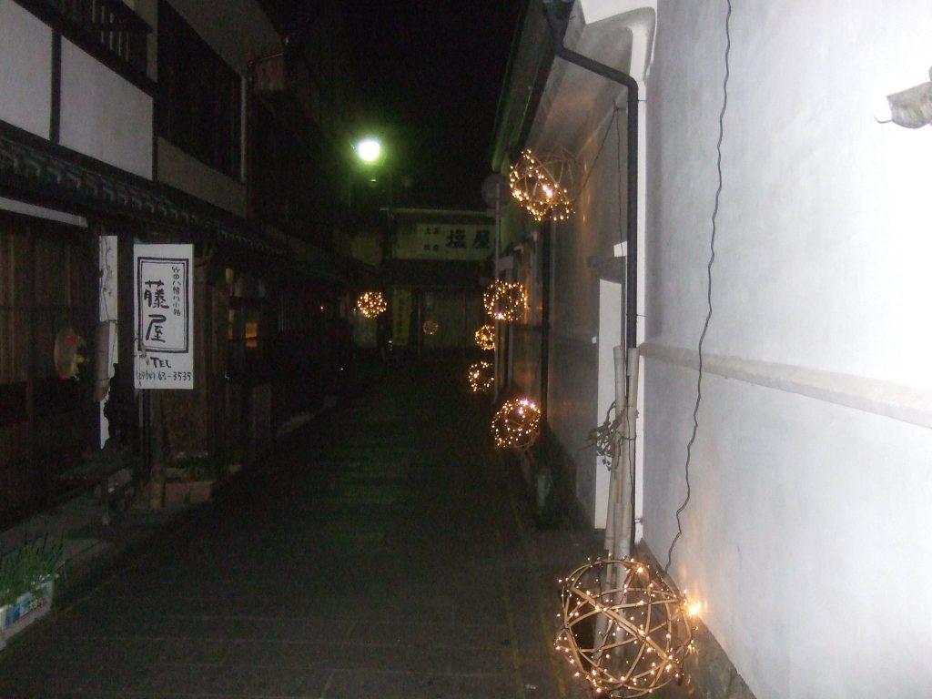 竹田城下町の竹ほたる 写真12