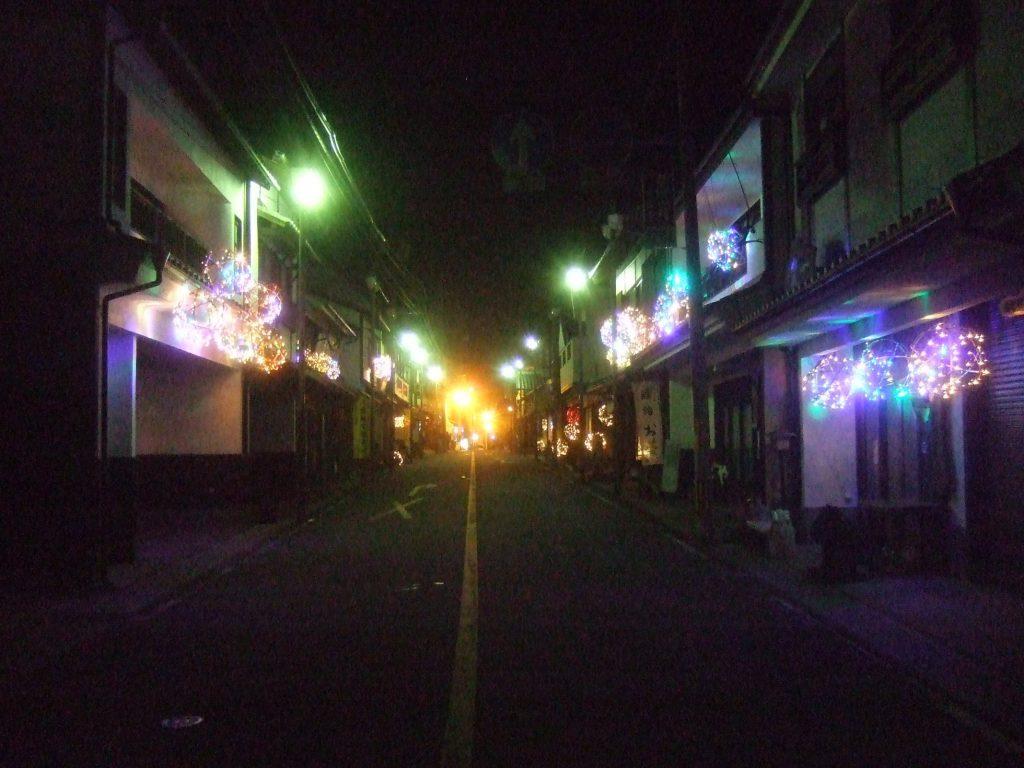 竹田城下町の竹ほたる 写真1