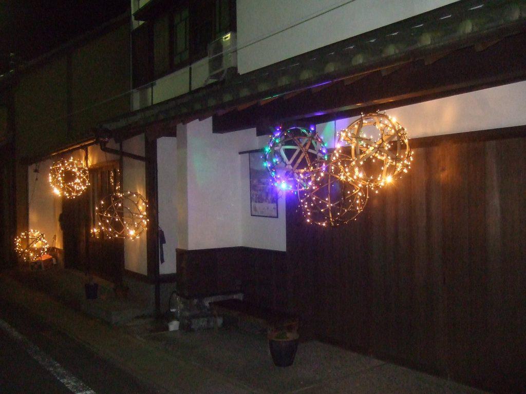 竹田城下町の竹ほたる 写真9